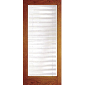 High Quality Door With Built In Mini Blinds