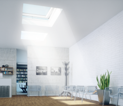 Flat Roof Skylight From Fakro