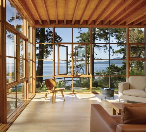 Sierra Pacific Sedona pushout casement and awning windows