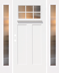Doorlite With Dentil Shelf From Apollo Building Products