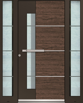 Aluminum Entry Doors By Inotherm