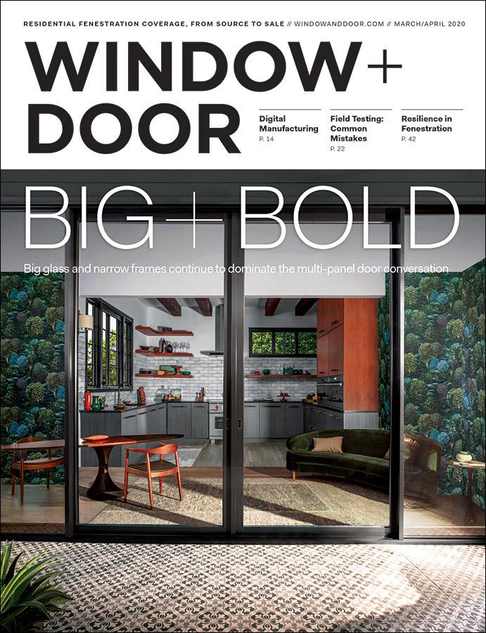 March/April 2020 Window + Door