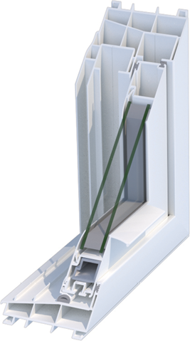 Mikron R1-100 window system
