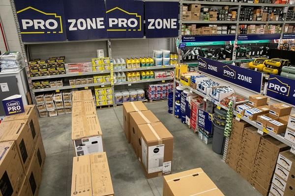 Lowe's Launches Pro Shopping Experience