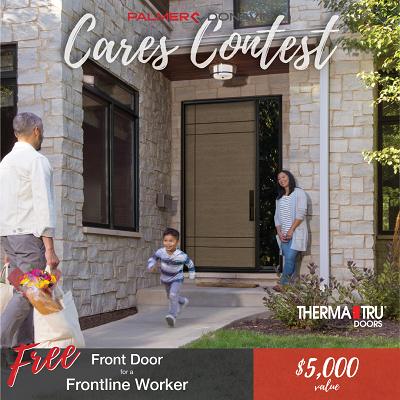 Nominate a Frontline Worker for a Free Door Through Palmer-Donavin Contest