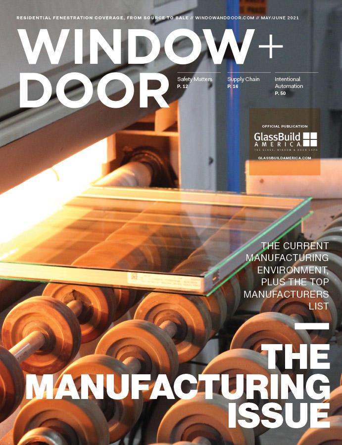 May/June 2021 issue of Window and Door