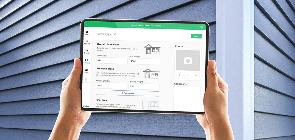 Paradigm Adds Exterior Siding to its Digital Selling Solution