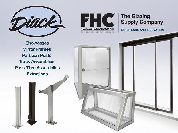 The Frameless Hardware Company Acquires A. Geo. Diack Inc.